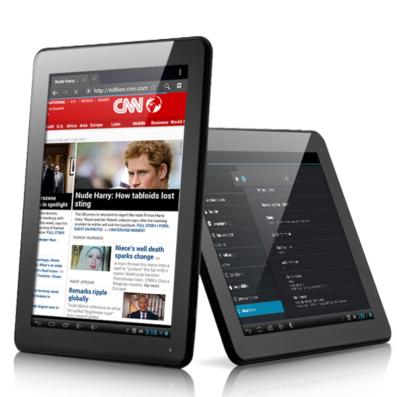 "Android 4.1 Tablet PC ""Diablo"" - 9.7 Inch HD, Dual Core 1.6GHz, Bluetooth, 16GB, 7600mAh  OA1568"